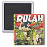 Cómic del Rulah-Vintage Iman De Frigorífico