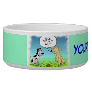 Comic Doggie Bowl