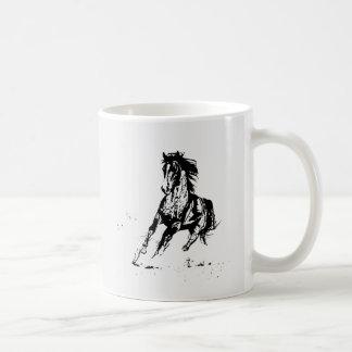 Comic Drawing Horse Classic White Coffee Mug