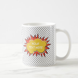 Comic Explosion Coffee Mug