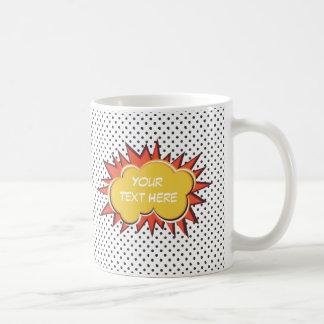 Comic Explosion Coffee Mug