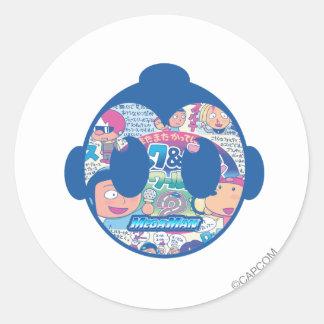 Comic Face Sticker
