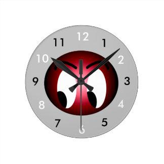 Comic Fun Laughter Jokes Cute CricketDiane Round Clock