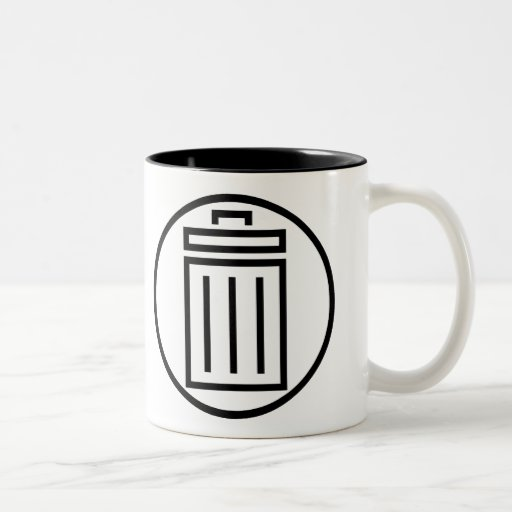 Comic Garbage - Simple - Left Handed - Mug