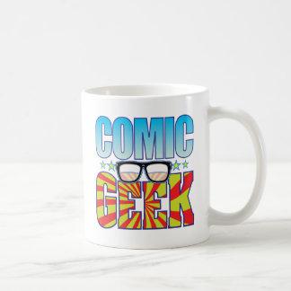 Comic Geek v4 Classic White Coffee Mug
