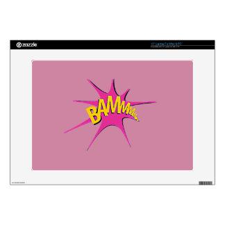 "Comic Girl 15"" Laptop Skin"
