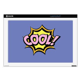 "Comic Girl 17"" Laptop Decal"