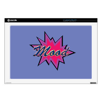 """Comic Girl Decal For 17"""" Laptop"""