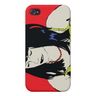 comic girl iphone case iPhone 4/4S cases