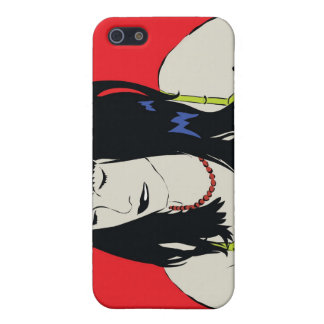 comic girl iphone case iPhone 5 cover