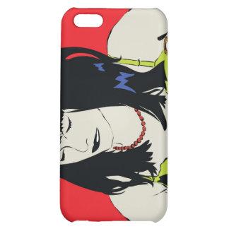 comic girl iphone case iPhone 5C case