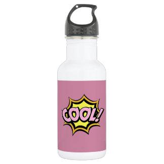 Comic Girl Stainless Steel Water Bottle