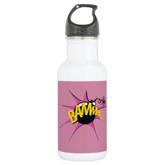 Comic Girl Water Bottle