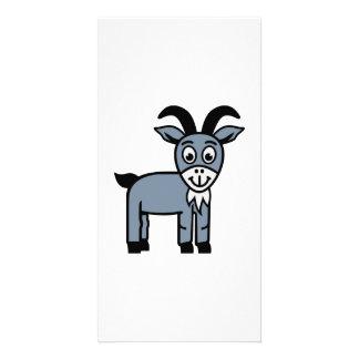 Comic goat card