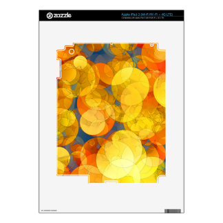COMIC GOLDEN BUBBLES iPad 3 DECAL