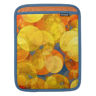 COMIC GOLDEN BUBBLES iPad Sleeve