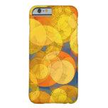 COMIC GOLDEN BUBBLES iPhone 6 Case