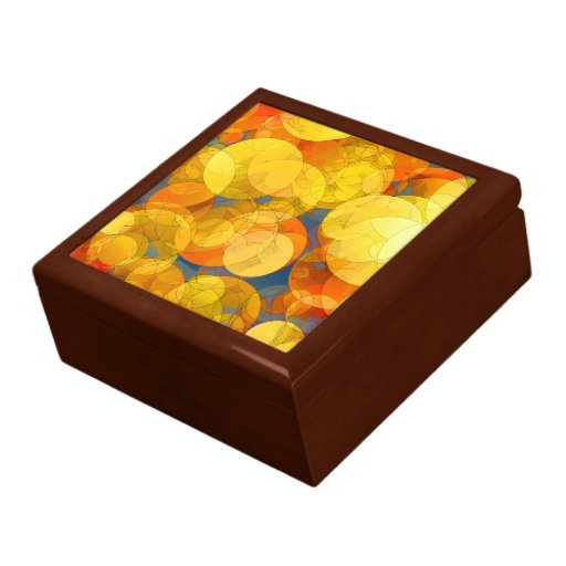 COMIC GOLDEN BUBBLES Keepsake Box