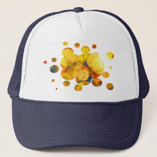 COMIC GOLDEN BUBBLES TRUCKER HAT