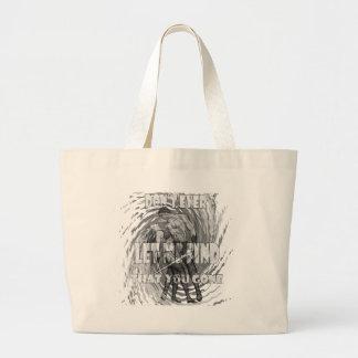 comic grey copy large tote bag
