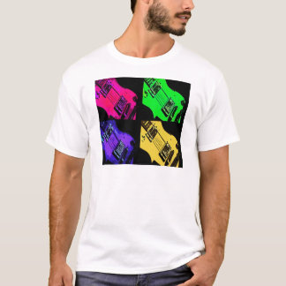 COMIC GUITAR ART T-Shirt