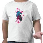Comic heart camisetas