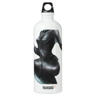 Comic Heroine / Fish Lady Water Bottle