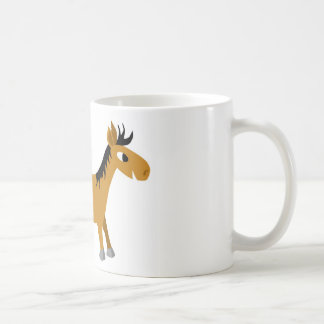 Comic horse coffee mug