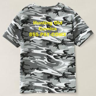 Comic Hunter Hunting Old Comics T-shirt