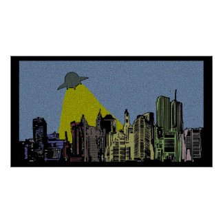 Comic Invasion Poster
