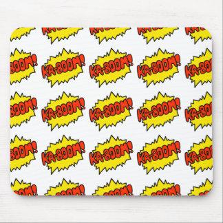 Comic 'Ka-Boom!' Mouse Pad