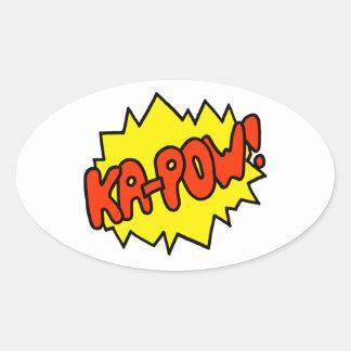 Comic Ka-Pow Stickers