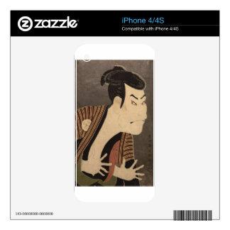 Comic Kabuki Actor iPhone 4 Decals