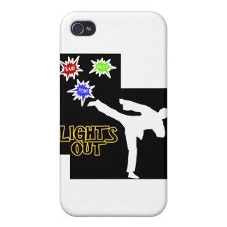 Comic Kick iPhone 4 Cases