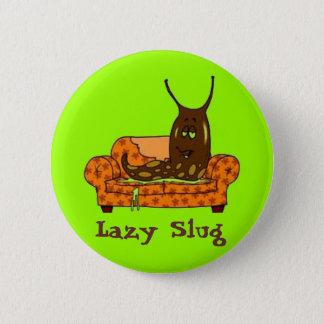 "Comic ""Lazy Slug"" Button"