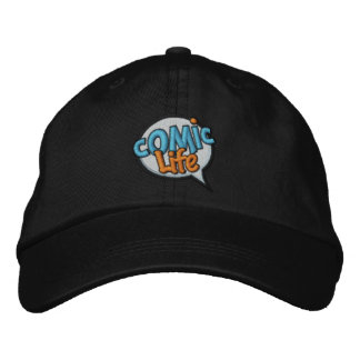 Comic Life Embroidered Cap