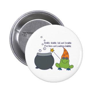 Comic McBeth Halloween Pinback Button