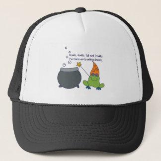 Comic McBeth Halloween Trucker Hat