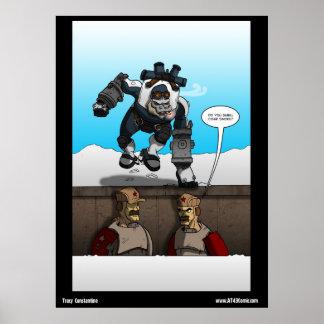 Comic: Mentor Freezer Poster
