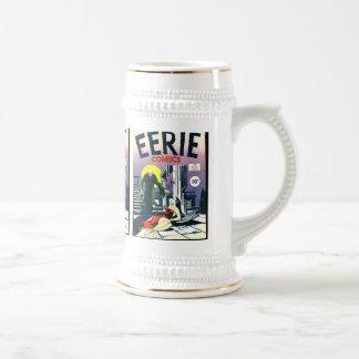 Cómic misteriosos jarra de cerveza