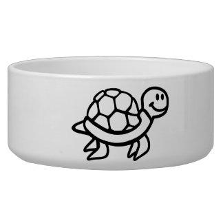 Comic ocean turtle bowl