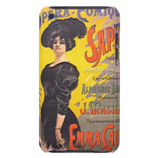 Comic Opera Playbill 1897 Barely There iPod Covers
