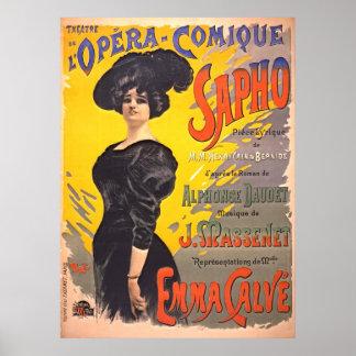 Comic Opera Playbill 1897 Posters