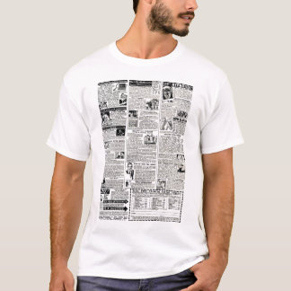 Comic Page Ads Vintage Ad T-Shirt