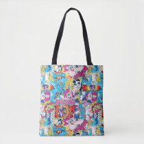 Comic Pattern Tote Bag