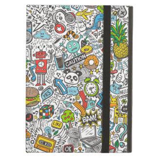 Comic Pop art Doodle iPad Air Cases