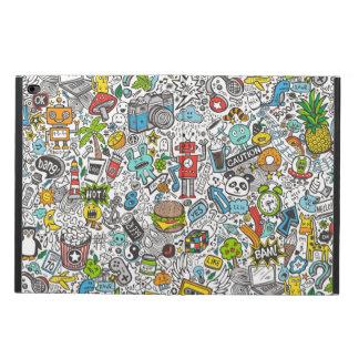 Comic Pop art Doodle Powis iPad Air 2 Case