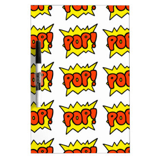 Comic 'Pop!' Dry Erase Whiteboards