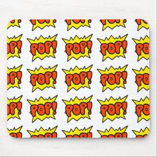 Comic 'Pop!' Mouse Pad