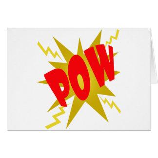 COMIC POW! GREETING CARDS